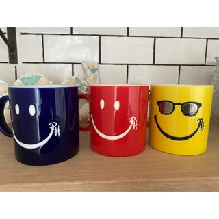 ロンハーマン(Ron Herman)の廃盤★ロンハーマン★スマイル★マグカップ(グラス/カップ)