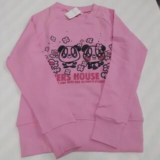 ラバーズハウス(LOVERS HOUSE)のトレーナー ラバーズハウス ピンク 子供服(トレーナー/スウェット)