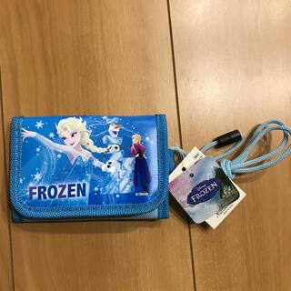 アナトユキノジョオウ(アナと雪の女王)の新品♥アナ雪 ディズニー 子供財布 キッズ パスケース定期(財布)