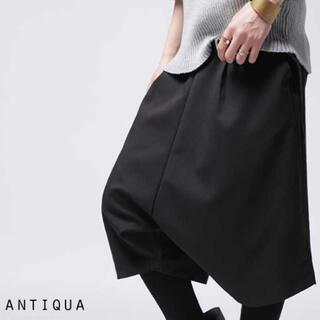 アンティカ(antiqua)のantiqua サルエルハーフパンツ(ハーフパンツ)