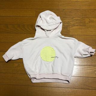 コドモビームス(こども ビームス)の韓国子供服 オーバーサイズ パーカー 90cm(ジャケット/上着)