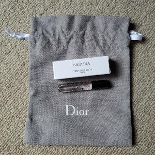 ディオール(Dior)のDior サンプル香水&巾着(香水(女性用))
