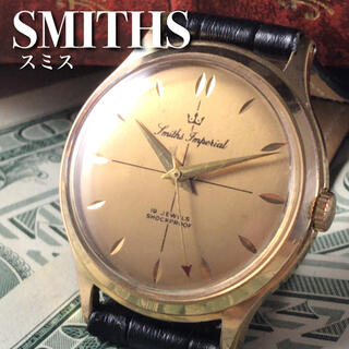 スミス(SMITH)の★美品!!動画有★1960's/スミス/インペリアル/メンズ腕時計WW1068(腕時計(アナログ))