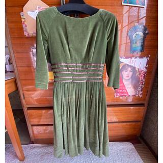 エディットフォールル(EDIT.FOR LULU)のvintage dress(ひざ丈ワンピース)