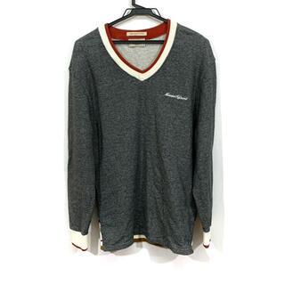 メゾンキツネ(MAISON KITSUNE')のメゾンキツネ 長袖カットソー サイズM(Tシャツ/カットソー(七分/長袖))