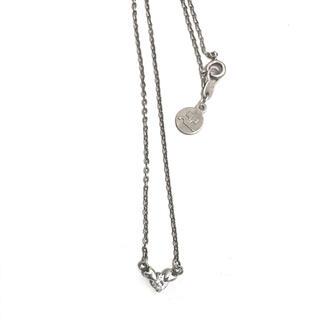 クレージュ(Courreges)のCourreges クレージュ プチペンダント ネックレス silver925(ネックレス)