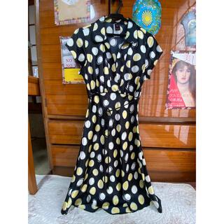 サンタモニカ(Santa Monica)のvintage dress(ひざ丈ワンピース)