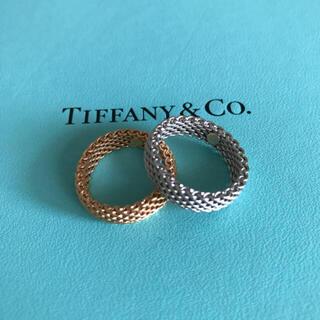 ティファニー(Tiffany & Co.)のTiffany サマセット(リング(指輪))