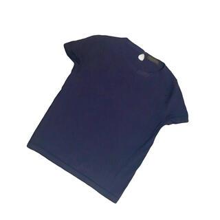 トゥモローランド(TOMORROWLAND)の定価2万!トゥモローランド コレクション ダークネイビーの半袖ニット(ニット/セーター)