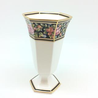 ウェッジウッド(WEDGWOOD)のWEDWOOD ウェッジウッド 花瓶 CLIO クリオ フェスティバルベース(花瓶)