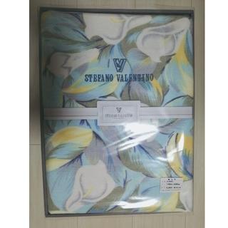 ステファノバレンチノ(STEFANO VALENTINO)の綿毛布 STEFANO VALENTINO 綿100% シングルサイズ(毛布)