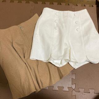 レピピアルマリオ(repipi armario)のレピピアルマリオ スカートとキュロットセット M(スカート)