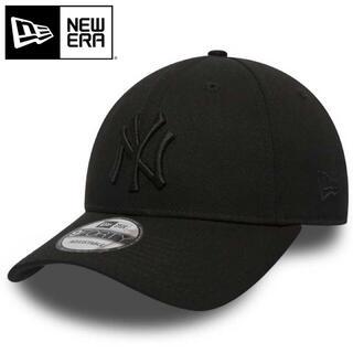 ニューエラー(NEW ERA)のニューエラ キャップ NY ヤンキース 黒 オールブラック ブラック(キャップ)