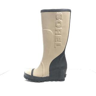ソレル(SOREL)のソレル レインブーツ レディース - ラバー(レインブーツ/長靴)