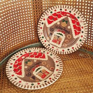 シャーリーテンプル(Shirley Temple)のお菓子のおうち  ケーキ皿2枚セット(食器)