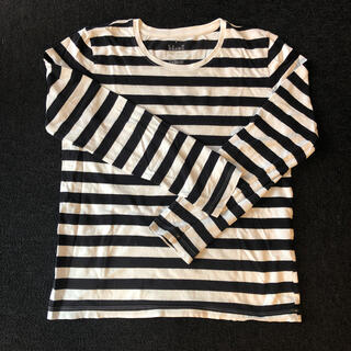 ムジルシリョウヒン(MUJI (無印良品))の無印良品 ボーダーTシャツ 長袖(Tシャツ(長袖/七分))