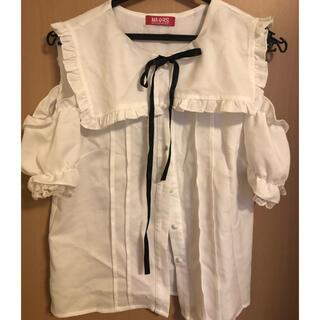 マーズ(MA*RS)のMARS セーラー襟ブラウス(シャツ/ブラウス(半袖/袖なし))