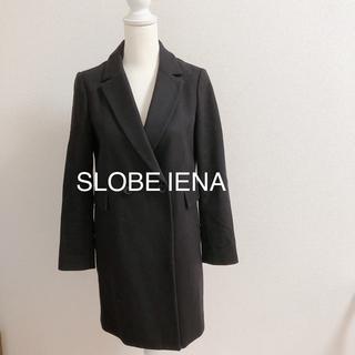 イエナスローブ(IENA SLOBE)のSLOBE IENA イエナ チェスターコート ブラック 36(チェスターコート)