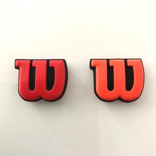 ウィルソン(wilson)のWilson ウィルソン テニス ラケット 振動止め 2個セット(その他)