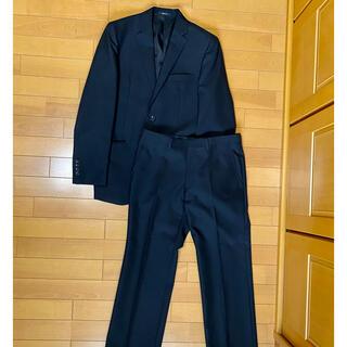 コムサイズム(COMME CA ISM)のコムサイズム スーツ セットアップ メンズ 上下 黒シャドーストライプ(セットアップ)