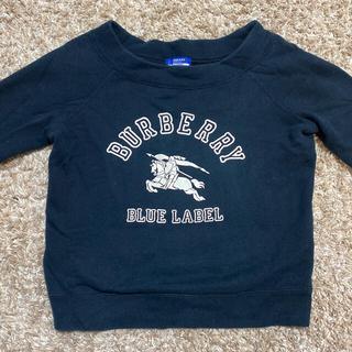バーバリーブルーレーベル(BURBERRY BLUE LABEL)の★★★【Burberry】8分袖 トレーナー★★★お値下げ中!(トレーナー/スウェット)