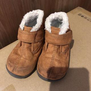ムジルシリョウヒン(MUJI (無印良品))の無印用品 ムートンブーツ キッズ 14cm(ブーツ)