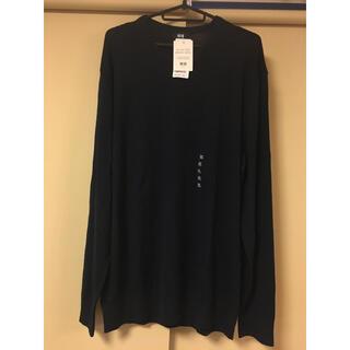 ユニクロ(UNIQLO)のUNIQLO エクストラファインメリノクルーネックセーター(ニット/セーター)
