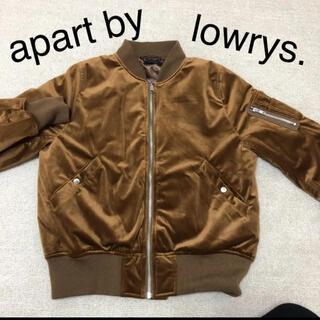 アパートバイローリーズ(apart by lowrys)のapart by lowrys MA-1ブルゾン(ブルゾン)