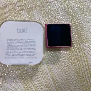 アップル(Apple)のiPod nano 16gb(ポータブルプレーヤー)