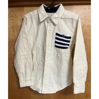 男の子 フランネルシャツ 130cm(Tシャツ/カットソー)