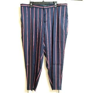 ラルフローレン(Ralph Lauren)のラルフローレン ネイビー ボーダー パンツ 大きいサイズ(その他)