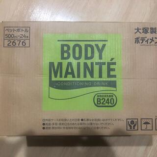 オオツカセイヤク(大塚製薬)の新品未開封 大塚製薬 BODY MAINTE  ボディメンテ 500ml×24本(ソフトドリンク)