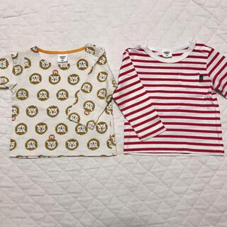 アカチャンホンポ(アカチャンホンポ)のアカチャンホンポ ロンT セット 70 80(Tシャツ)