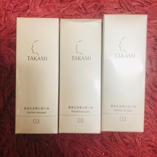 タカミ(TAKAMI)の【新品未開封】タカミスキンピール 30ml×3本(美容液)