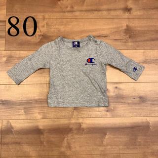 チャンピオン(Champion)のチャンピオン ロングTシャツ  キッズ80(Tシャツ)