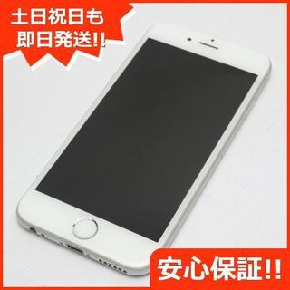 アイフォーン(iPhone)の良品中古 au iPhone6S 32GB シルバー 白ロム(スマートフォン本体)