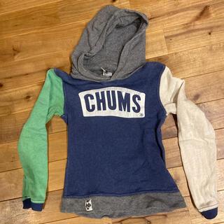 チャムス(CHUMS)のCHUMS パーカー  120 中古(ジャケット/上着)