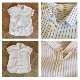 ジーユー(GU)のシャツ 2枚セット(シャツ/ブラウス(半袖/袖なし))