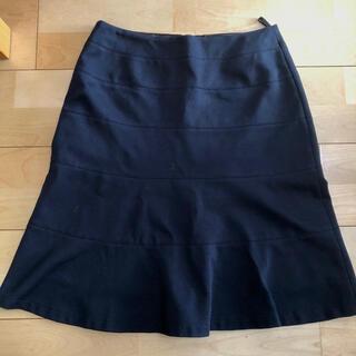 クードシャンス(COUP DE CHANCE)の膝丈スカート 紺 38 クードシャンス COUP DE CHANCE(ひざ丈スカート)