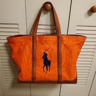 ラルフローレン(Ralph Lauren)のラルフローレン革使いトートバッグ(トートバッグ)