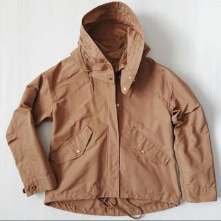 アナイ(ANAYI)のアナイ フード付きブルゾン ショートジャケット ミリタリーブルゾン(ブルゾン)