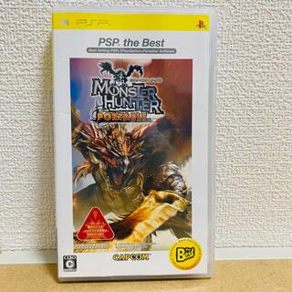プレイステーションポータブル(PlayStation Portable)のモンスターハンターポータブル PSP the Best カプコン(携帯用ゲームソフト)