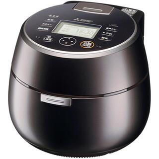 ミツビシデンキ(三菱電機)の三菱電機 IH炊飯器 本炭釜 羽釜タイプ 5.5合炊き NJ-AW109-B(炊飯器)