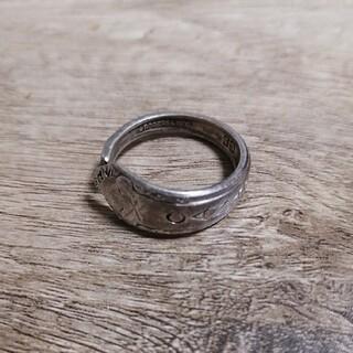 ヴィンテージ スプーンリング シルバーリング(リング(指輪))