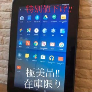 アンドロイド(ANDROID)の【極美品 本日特別値下げ!】 10.1インチ 日本製 Android タブレット(タブレット)