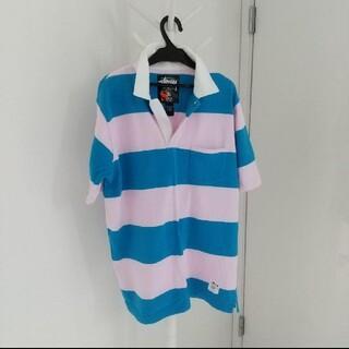 ステューシー(STUSSY)のステューシー ラガーシャツ S(ポロシャツ)