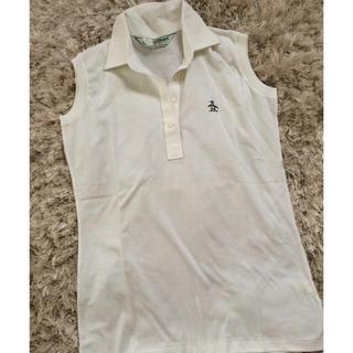 マンシングウェア(Munsingwear)のマンシング ノースリーブシャツ未使用(ポロシャツ)