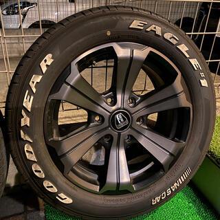 グッドイヤー(Goodyear)のハイエース ポン付け 車検対応 LT規格(タイヤ・ホイールセット)