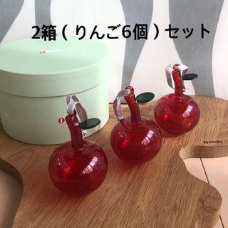 イッタラ(iittala)のsyamsyan様専用 新品 2箱 イッタラ りんご  オーナメント(食器)