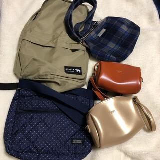タカラジマシャ(宝島社)のリンネル   付録 バッグ 5種セット  開封品新品未使用 (ショルダーバッグ)